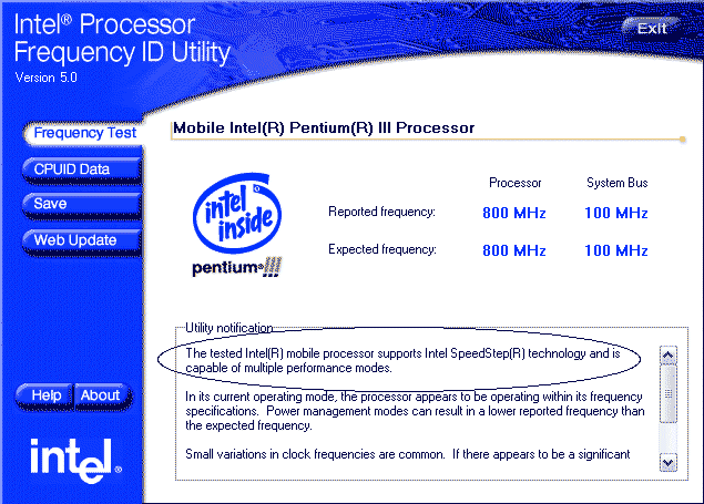 Frequency ID Utility